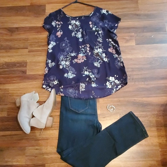 Maurices Tops - Floral Top
